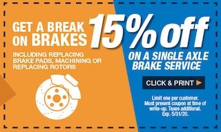 Get a Break on Brakes!