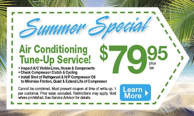 Summer Air Conditioning Special