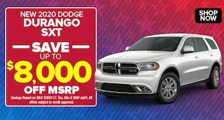 Dodge Durango Deal - October 2020