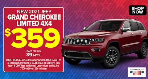 Jeep Grand Cherokee Limited Deal - May 2021
