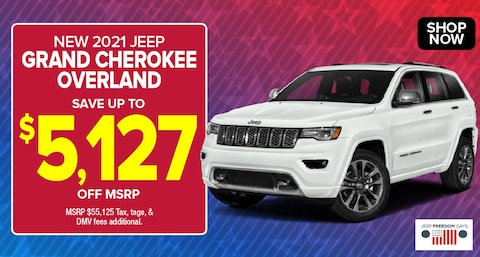Jeep Grand Cherokee Overland Deal - May 2021