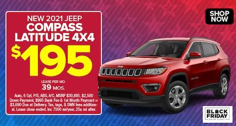 Jeep Compass Latitude Deal - November 2020