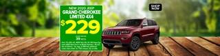 Jeep Grand Cherokee - June 2020