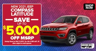 Jeep Compass Deal - October 2020