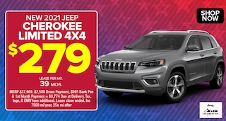 Jeep Cherokee Deal - April 2021