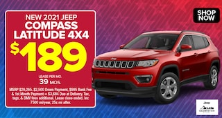 Jeep Compass Deal - April 2021