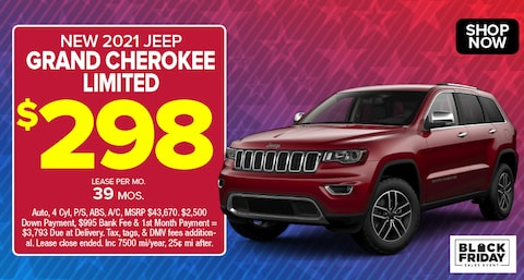 Jeep Grand Cherokee Limited Deal - November 2020