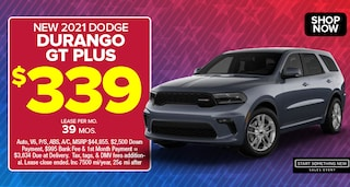 Dodge Durango Deal - January 2021