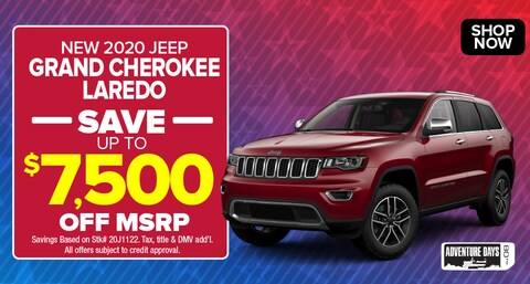 Jeep Grand Cherokee Deal - September 2020