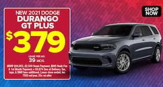 Dodge Durango Deal - April 2021