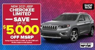 Jeep Cherokee Limited Deal - October 2020