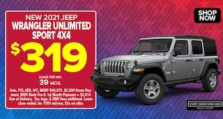 Jeep Wrangler Deal - January 2021