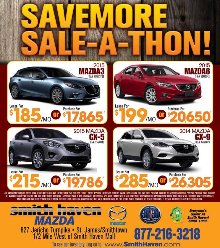 St James Mazda Ad New York Car Dealer Long Island Brentwood Medford