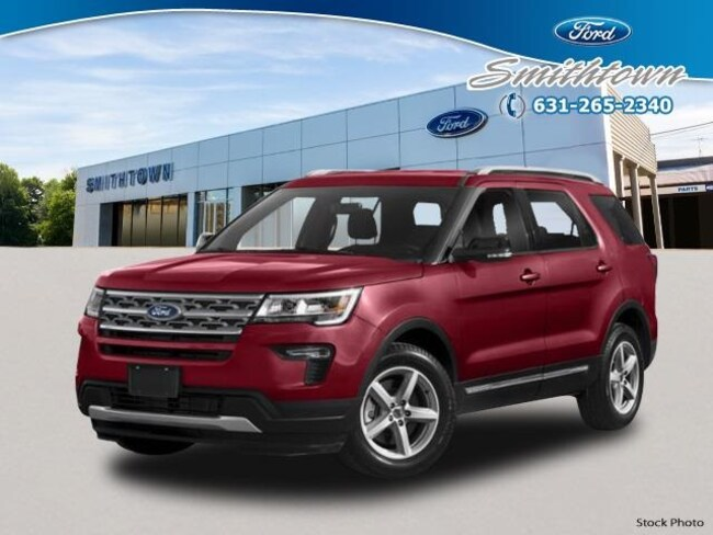 New 2019 Ford Explorer XLT SUV in Saint James, NY