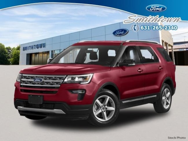 New 2019 Ford Explorer Sport SUV in Saint James, NY