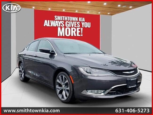 Bargain Used 2015 Chrysler 200 C Sedan near Smithtown, NY