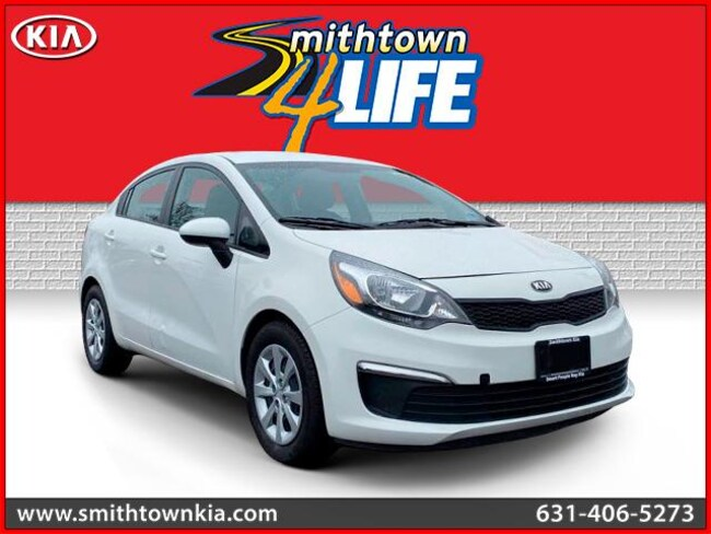 Bargain Used 2016 Kia Rio LX Sedan near Smithtown, NY