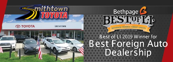 Long Island Toyota Dealer, New and Used, Smithtown Toyota