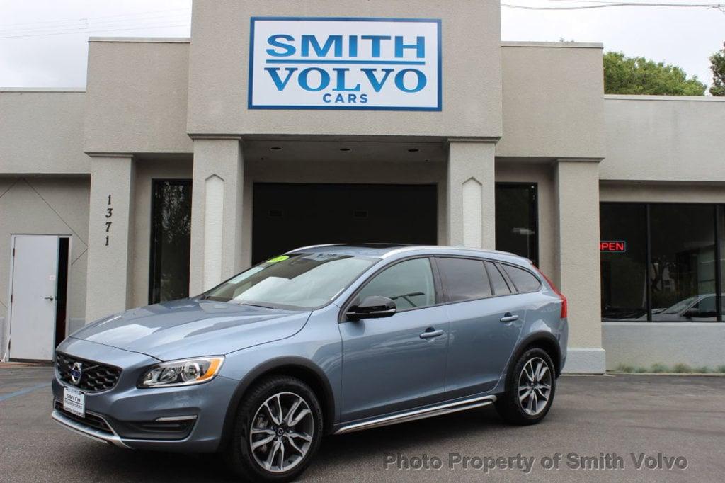 Featured Pre-Owned 2018 Volvo V60 Cross Country T5 AWD Wagon for sale in San Luis Obispo, CA