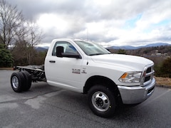 New 2018 Ram 3500 TRADESMAN CHASSIS REGULAR CAB 4X4 143.5 WB Regular Cab in Franklin, NC