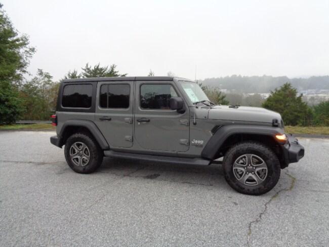 New 2018 Jeep Wrangler UNLIMITED SPORT S 4X4 Sport Utility Franklin