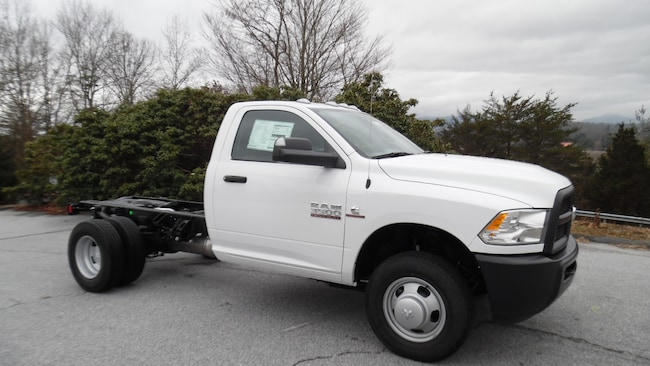 New 2018 Ram 3500 TRADESMAN CHASSIS REGULAR CAB 4X4 143.5 WB Regular Cab Franklin