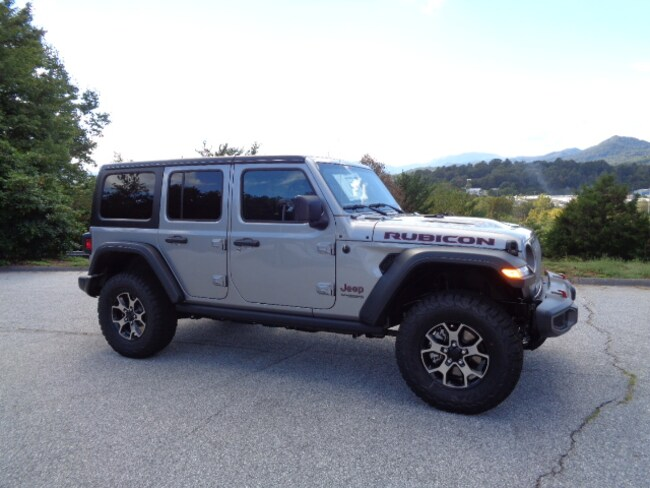 New 2018 Jeep Wrangler UNLIMITED RUBICON 4X4 Sport Utility Franklin