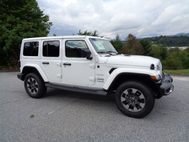 New 2018 Jeep Wrangler UNLIMITED SAHARA 4X4 Sport Utility Franklin