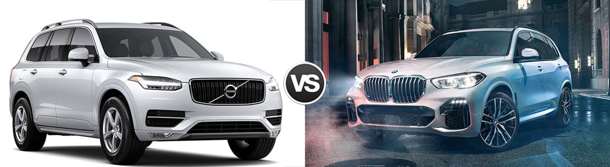 2019 Volvo XC90 vs 2019 BMW X5