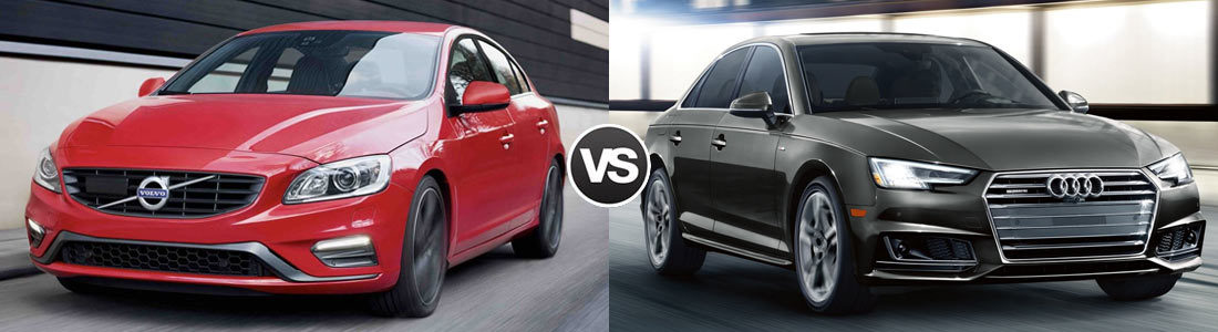 Compare Volvo S Vs Audi A MPG Features And Performance - Audi a4 comparable cars