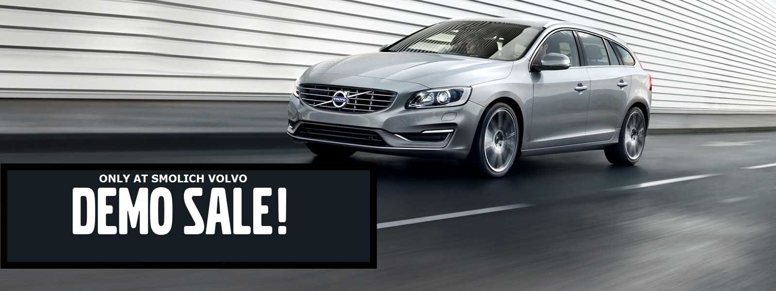 Demo and Retired Loaner Vehicles on Sale at Smolich Volvo Cars in Bend, OR