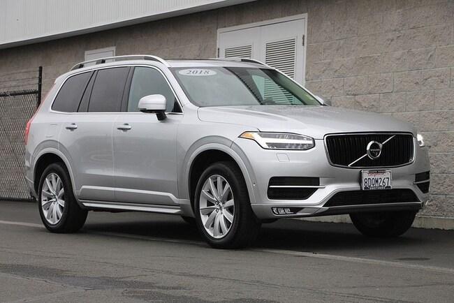 Used 2018 Volvo XC90 T6 AWD Momentum (7 Passenger) SUV Santa Rosa, Bay Area