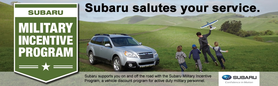 military discount on new subaru patriot subaru of north. Black Bedroom Furniture Sets. Home Design Ideas