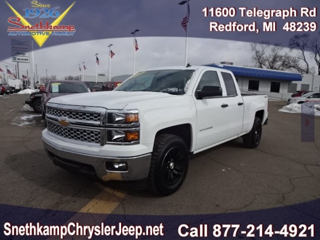 Used 2014 Chevrolet Silverado 1500 LT Truck Double Cab in Redford, MI near Detroit