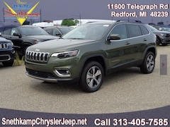 New 2019 Jeep Cherokee LIMITED 4X4 Sport Utility in Redford, MI near Detroit