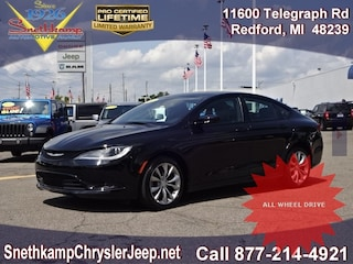 Low Mileage Used 2015 Chrysler 200 S Sedan near Detroit