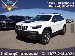 New 2019 Jeep Cherokee TRAILHAWK 4X4 Sport Utility in Redford, MI near Detroit