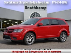 New 2018 Dodge Journey GT AWD Sport Utility in Redford, MI near Detroit