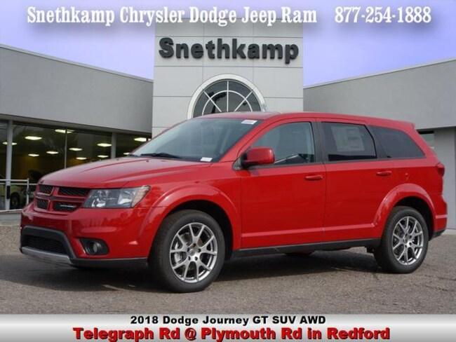 New 2018 Dodge Journey GT AWD Sport Utility in Redford, MI near Detroit