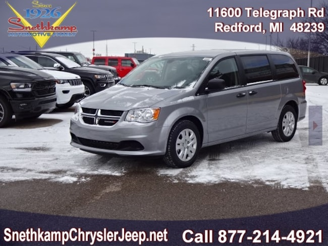 New 2019 Dodge Grand Caravan SE Passenger Van in Redford, MI near Detroit