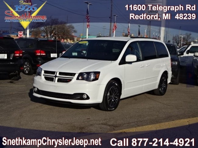 Used 2017 Dodge Grand Caravan GT black interior 52220 miles Stock HR814465 VIN 2C4RDGEG9HR814