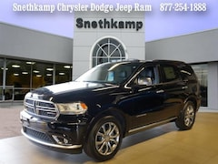 New 2018 Dodge Durango CITADEL ANODIZED PLATINUM AWD Sport Utility in Redford, MI near Detroit