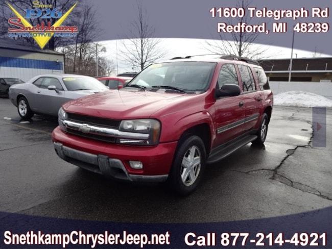 Used 2002 Chevrolet TrailBlazer EXT LT SUV in Redford, MI near Detroit