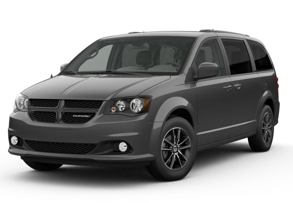 New 2019 Dodge Grand Caravan SE PLUS billet exterior black interior 0 miles Stock KR603299 VIN