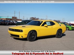 New 2018 Dodge Challenger R/T Coupe in Redford, MI near Detroit