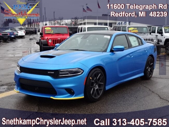 New 2019 Dodge Charger R/T RWD Sedan in Redford, MI near Detroit