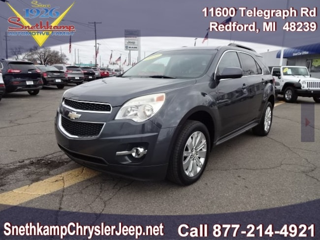 Used 2010 Chevrolet Equinox LT w/2LT SUV in Redford, MI near Detroit