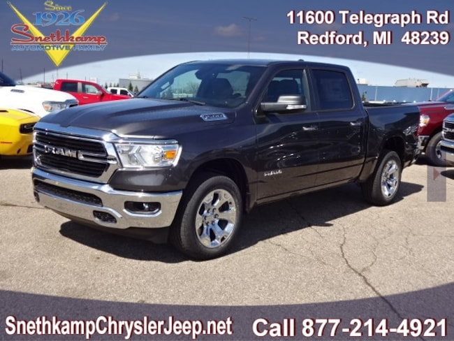 New 2019 Ram 1500 BIG HORN / LONE STAR CREW CAB 4X4 5'7 BOX Crew Cab in Redford, MI near Detroit