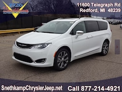 New 2019 Chrysler Pacifica LIMITED Passenger Van in Redford, MI near Detroit