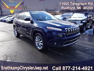 Used 2015 Jeep Cherokee Limited 4x4 SUV in Redford, MI